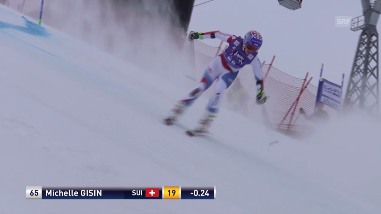 Michelle Gisin, 2. Lauf Sölden