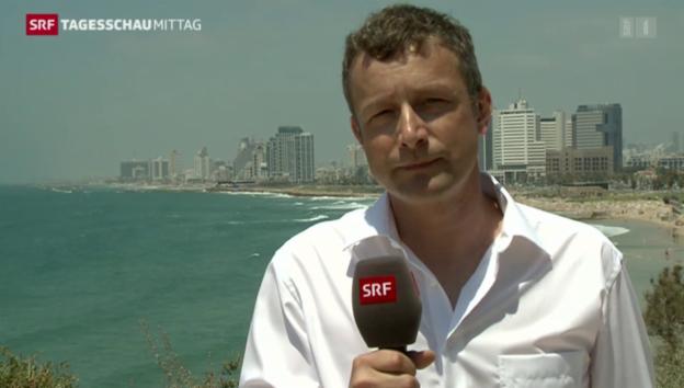 Video «Ben Huwyler zu den Reaktionen in Israel» abspielen