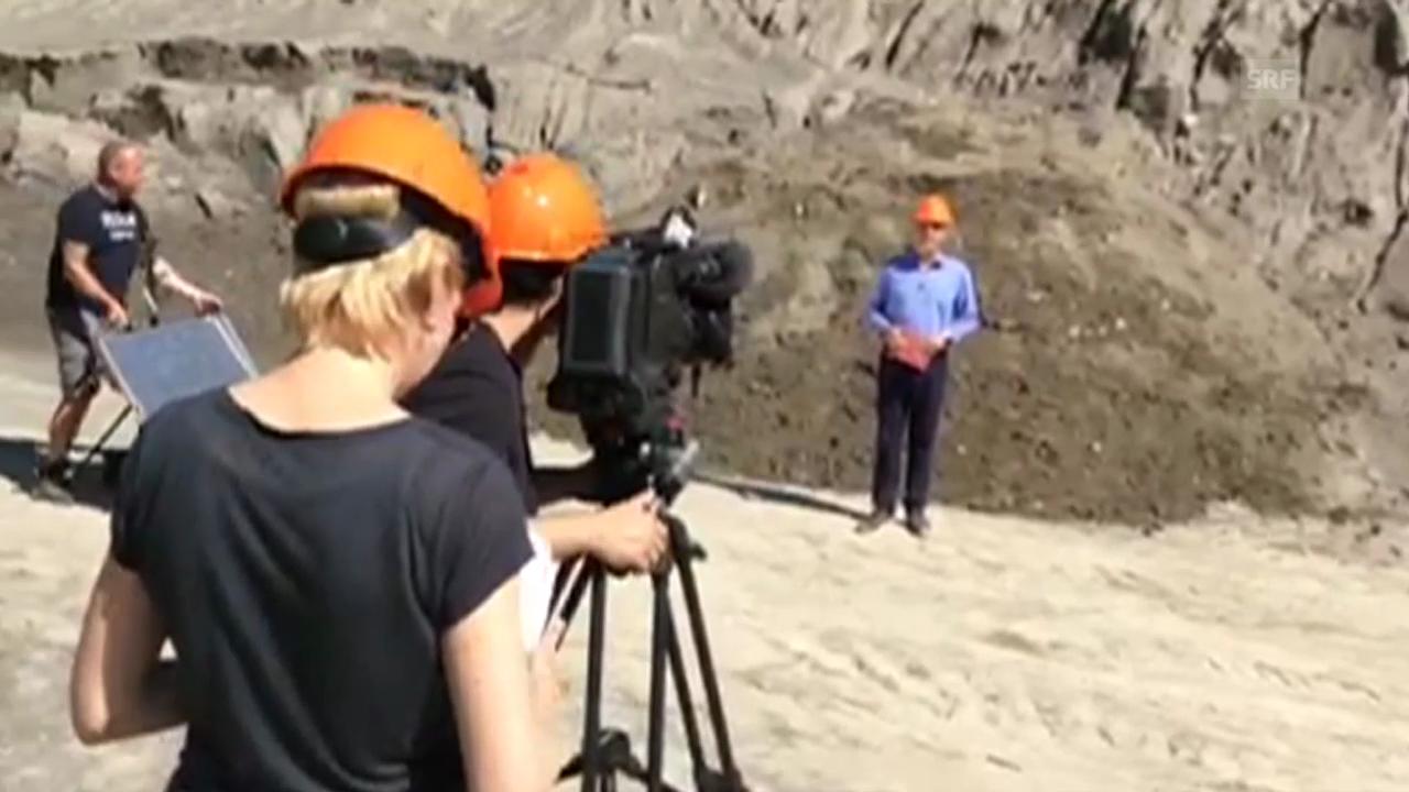 «ECO-Spezial» zu Sand: Impressionen von den Dreharbeiten