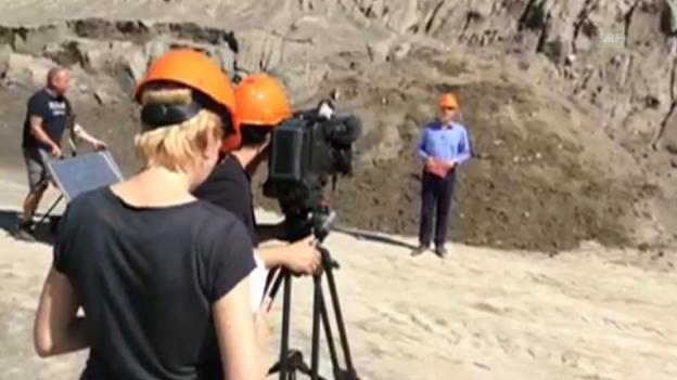 Video ««ECO-Spezial» zu Sand: Impressionen von den Dreharbeiten» abspielen