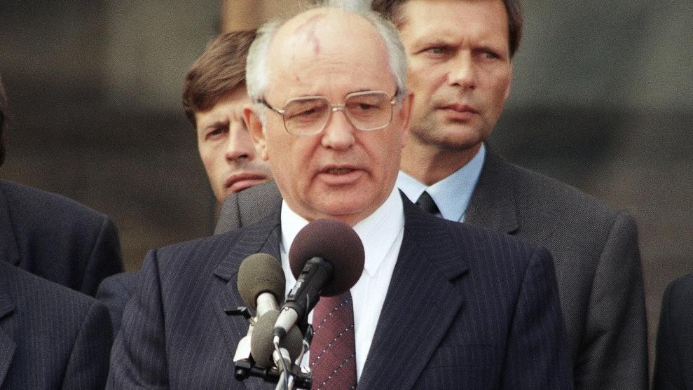 Grobatschow Rücktritt