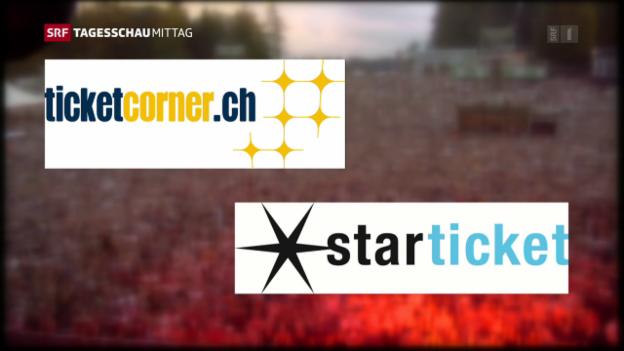 Video «Fusion von Starticket und Ticketcorner verboten» abspielen