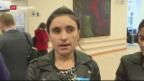 Video «Zwei Jesidinnen mit Sacharow-Preis ausgezeichnet» abspielen