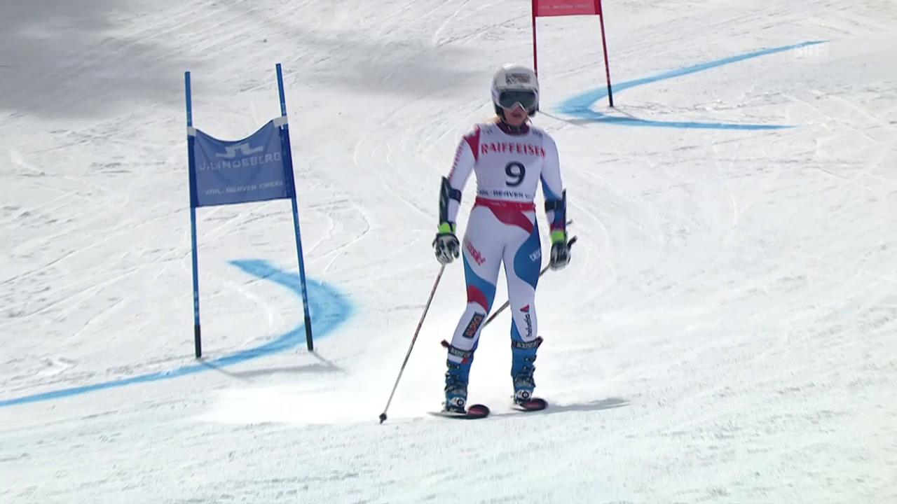 Ski WM, Vail/Beaver Creek, Rs: Out von Gut