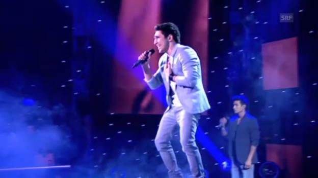 Video «Aserbaidschan: Farid Mammadov, «Hold Me»» abspielen