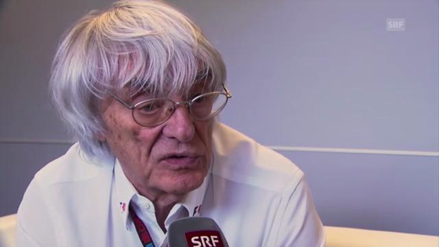 Ecclestone über die Probleme beim Sauber-Team
