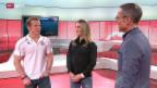 Video «Turnen: Studiogäste Giulia Steingruber und Fabian Hambüchen, Teil 1» abspielen