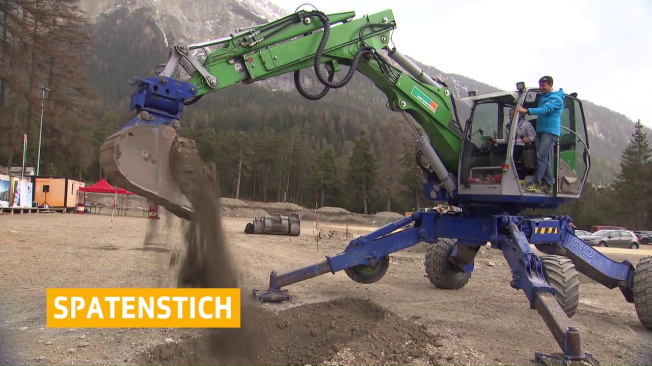 Biathlon: Spatenstich in Lenzerheide