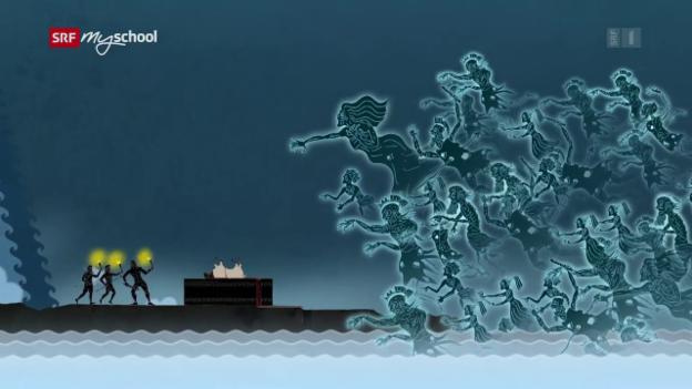 Video «Odyssee animiert: In der Unterwelt (9/14) » abspielen