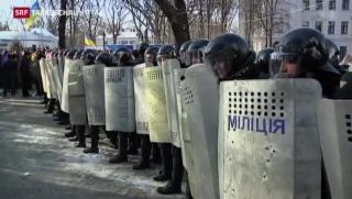 Video «Ausweitung der Unruhen in der Ukraine» abspielen