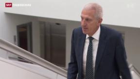 Video «Raiffeisen-Chef Pierin Vincenz kündigt Rücktritt an» abspielen