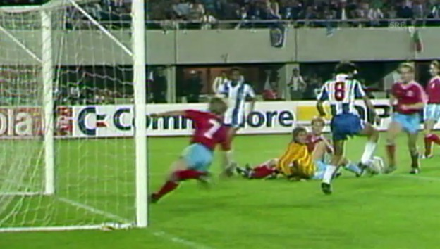 Video «Fussball: Meistercup Final 1987 Porto Bayern» abspielen
