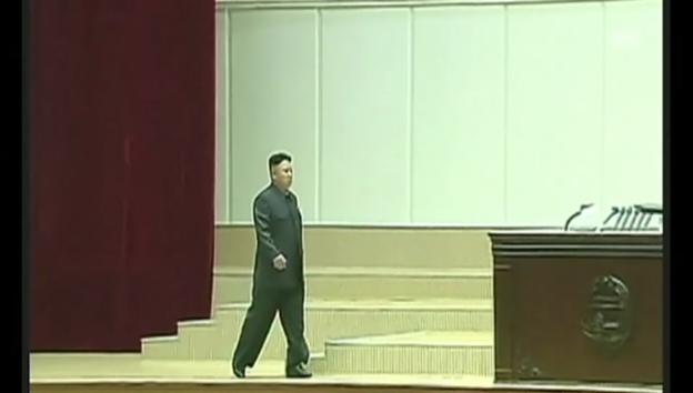 Video «Diktator Kim Jong Un ist angeschlagen (unkommentiert)» abspielen