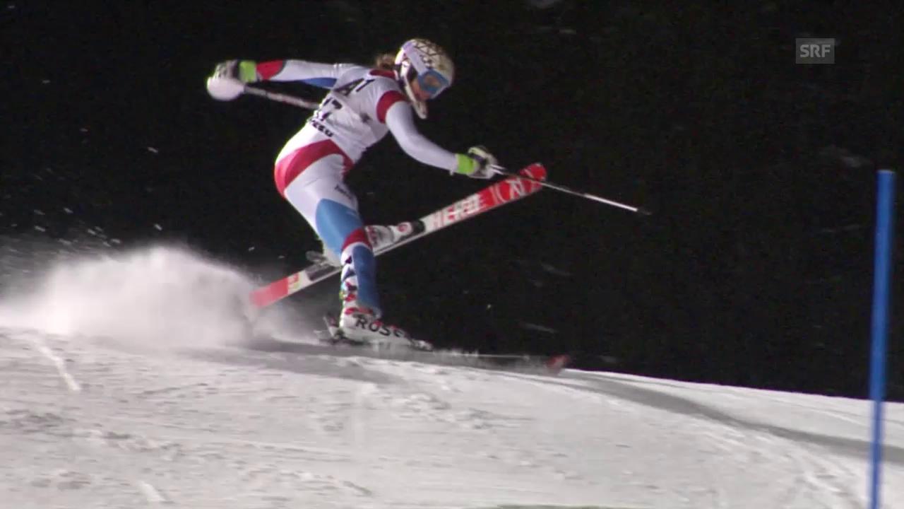 Ski: Slalom Flachau, 2. Lauf Gisin