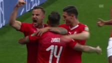 Link öffnet eine Lightbox. Video Schweiz erkämpft sich Punkt gegen Brasilien abspielen