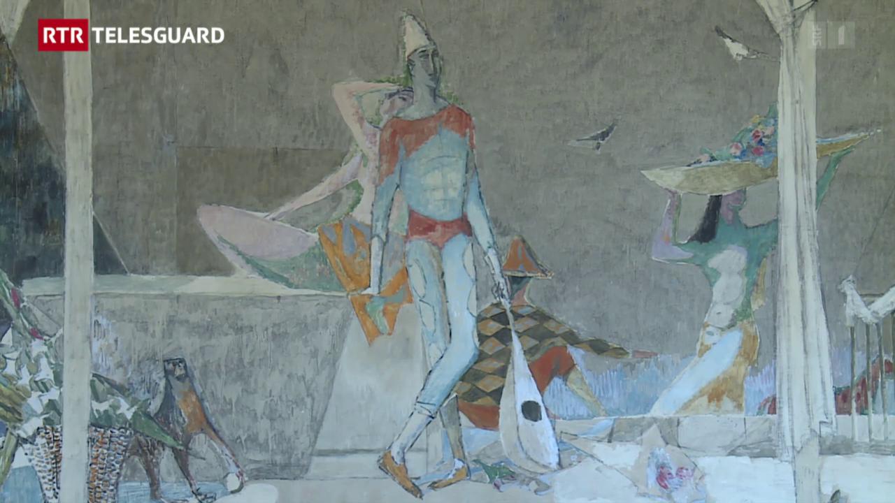 Trais grondas lavurs da l'artist Alois Carigiet