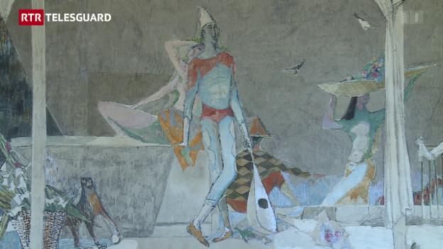 Laschar ir video «Trais grondas lavurs da l'artist Alois Carigiet»