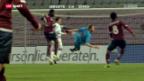 Video «Fussball: Servette - FC Zürich» abspielen
