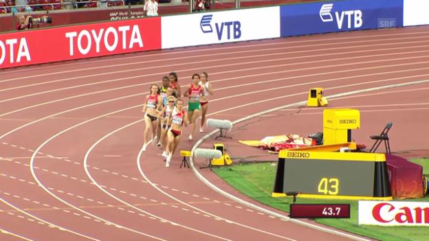 Video «LA: 800 m, Halbfinals» abspielen