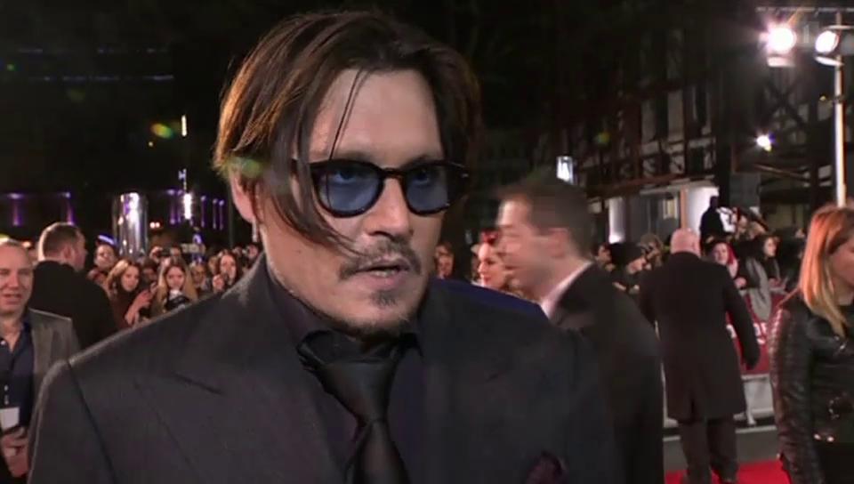 Ein Schatten seiner selbst: Johnny Depp im Tief