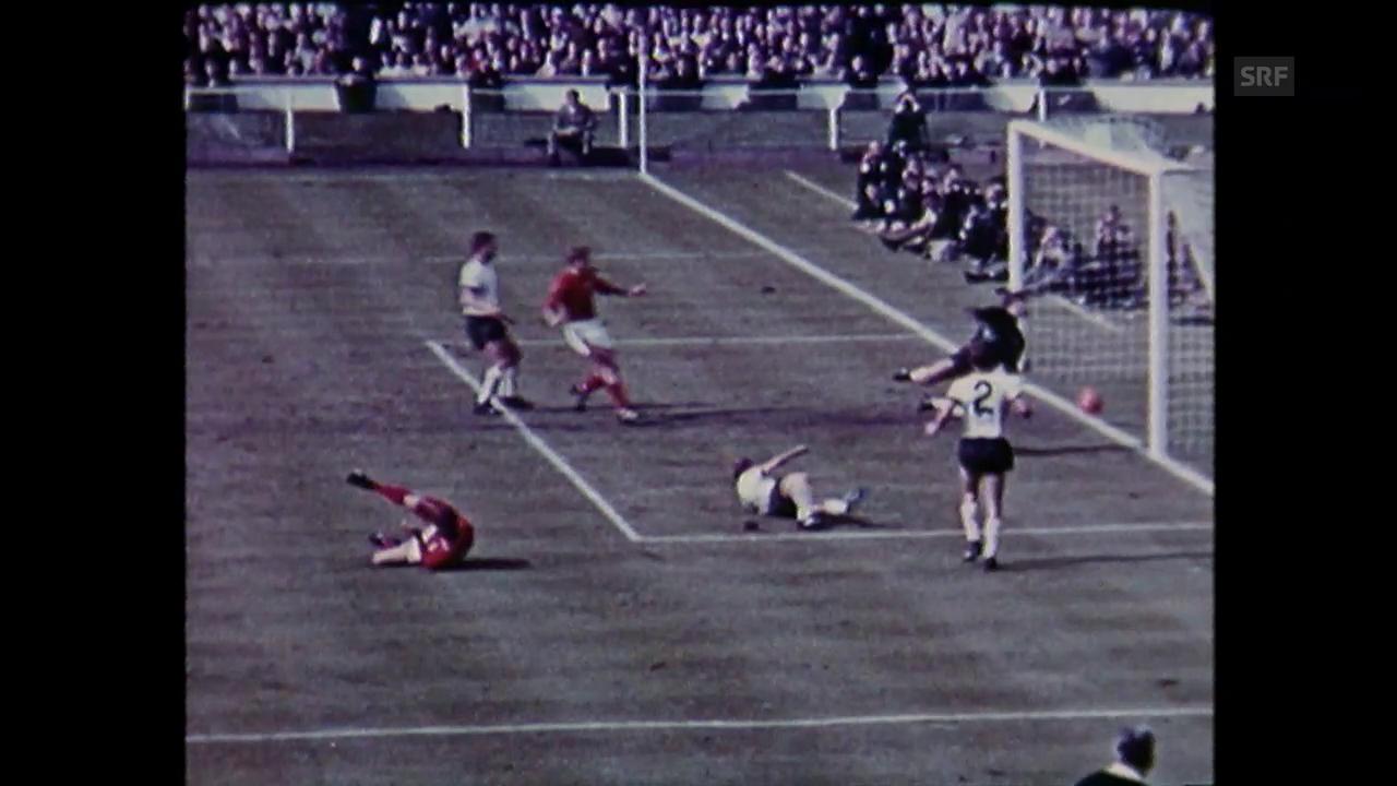 WM 1966: England - Deutschland