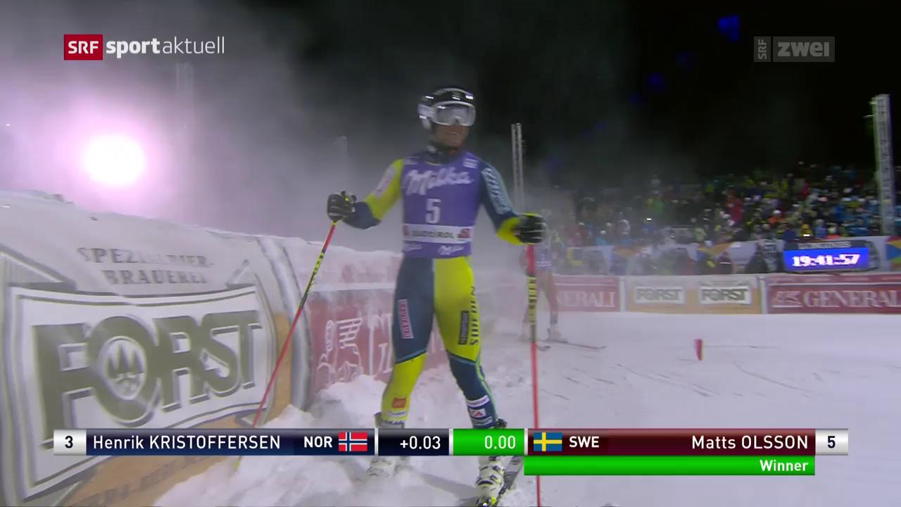 Ski: Olsson gewinnt Parallel-Riesenslalom in Alta Badia