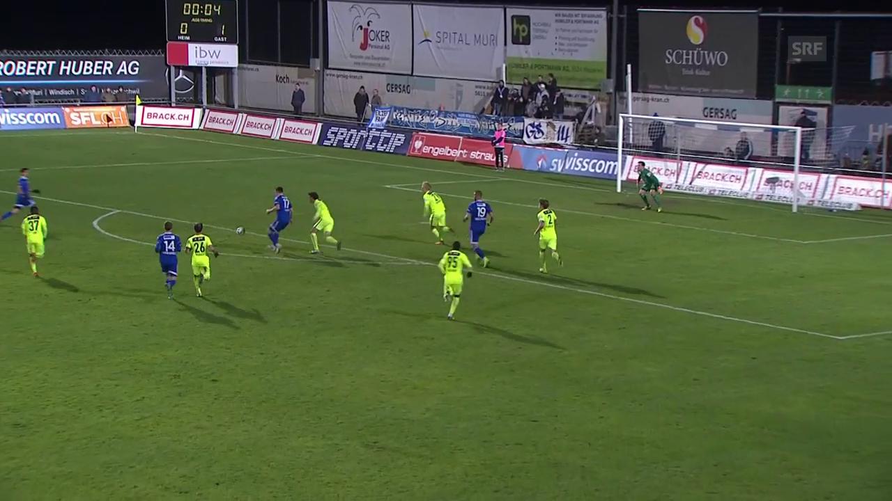Challenge League: Unentschieden im Aargauer Derby