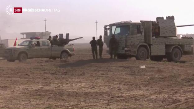 Video «Offensive auf IS-Hochburg Mossul gestartet» abspielen