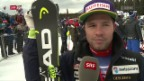 Video «Ski: Sieger Feuz im Interview» abspielen