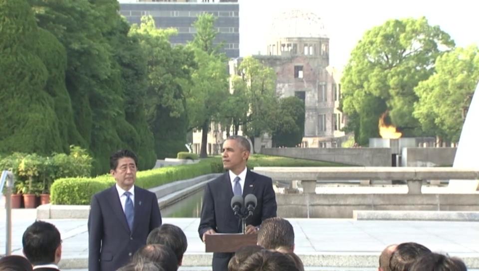 Obama: «Tod fiel vom Himmel und veränderte die Welt.»