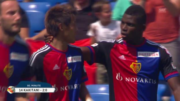 Video «Fusball: Basel-Vaduz» abspielen
