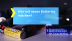 Video «2. Tipp: Batterie-Arten mischen?» abspielen