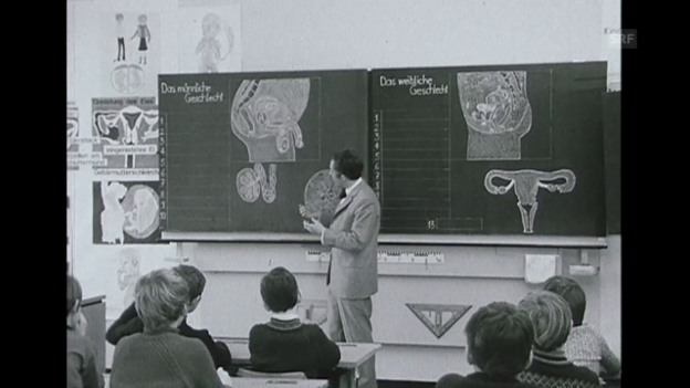 Video «So sagt er es den Schülern (Tips für Sie, 27.02.1971)» abspielen