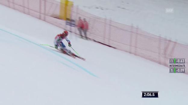 Video «Ski Alpin: Abfahrt Männer in Alta Badia, 2. Lauf von Tumler («sportlive», 22.12.2013)» abspielen
