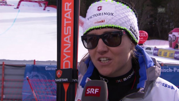 Video «Ski: Interview Fabienne Suter» abspielen