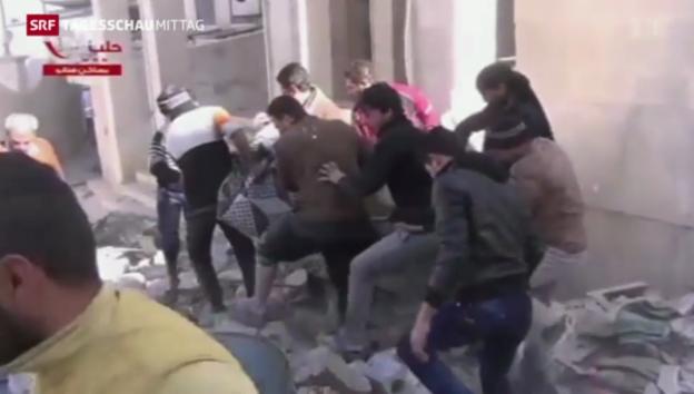 Video «Kinder in syrischem Bürgerkrieg misshandelt» abspielen