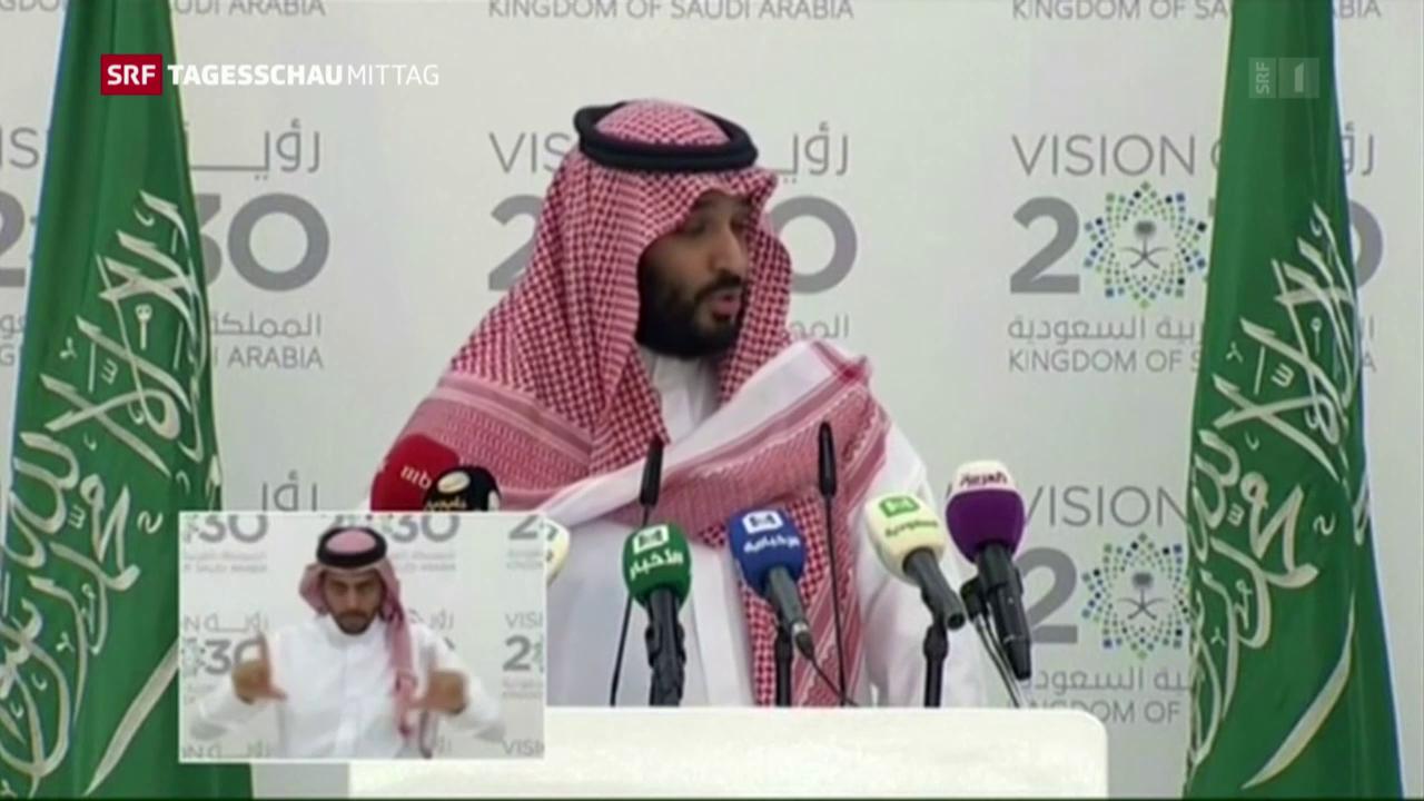 Saudi-Arabien will von «Sucht» nach schwarzem Gold wegkommen