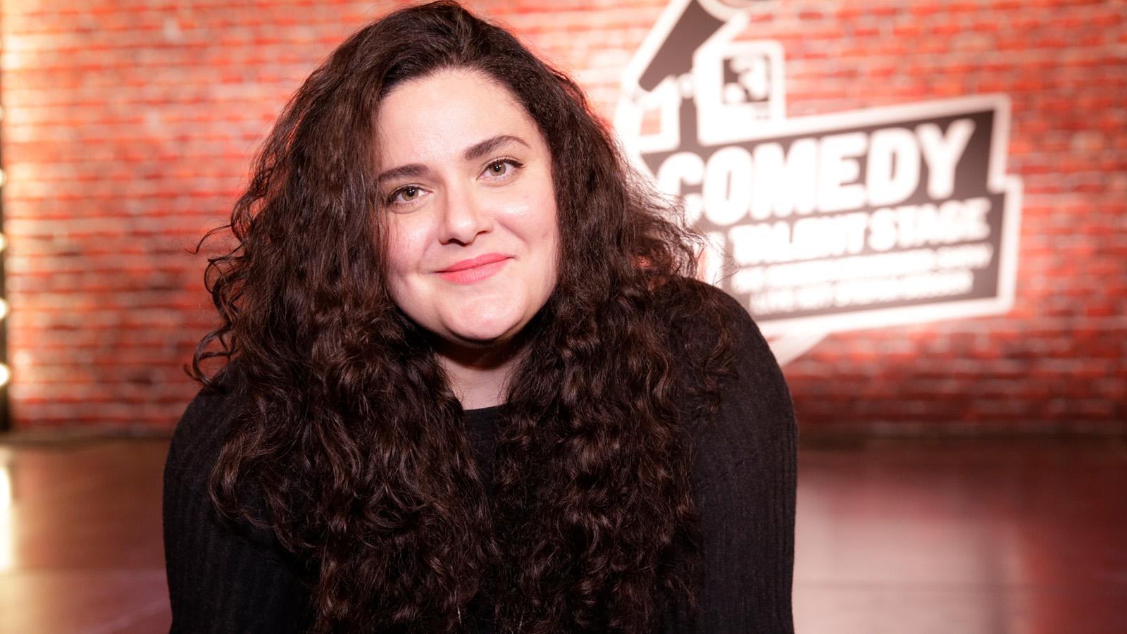 Rebekka Lindauer auf der SRF 3 «Comedy Talent Stage»