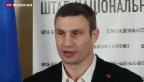 Video «Vitali Klitschko kämpft weiter um Machtwechsel in Ukraine» abspielen