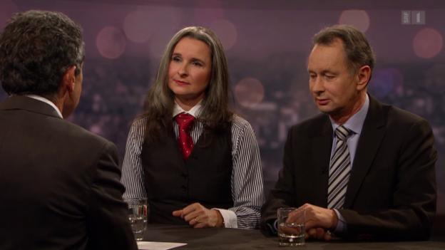 Video «Mit Yvette Estermann und Philipp Müller» abspielen