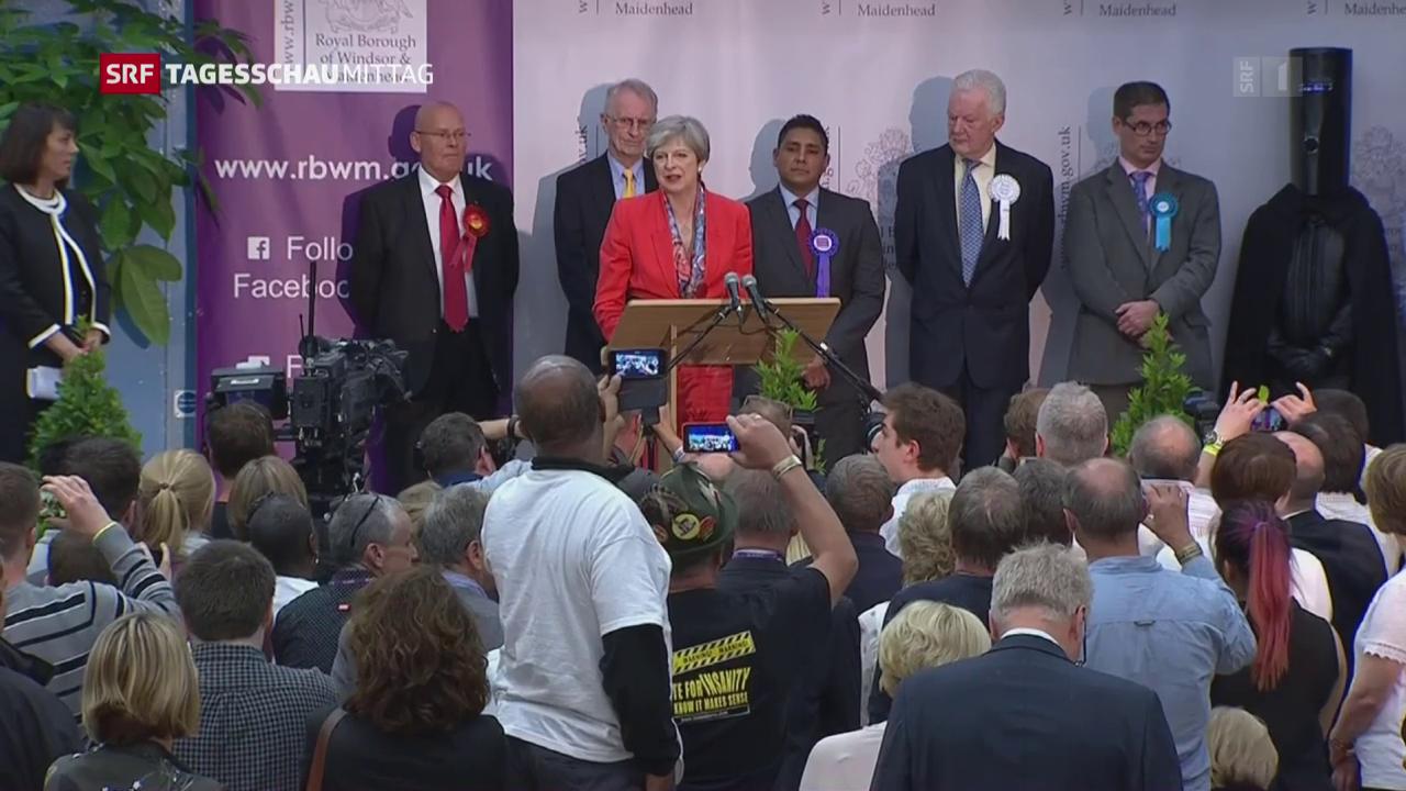 Wahl-Schlappe für Theresa May