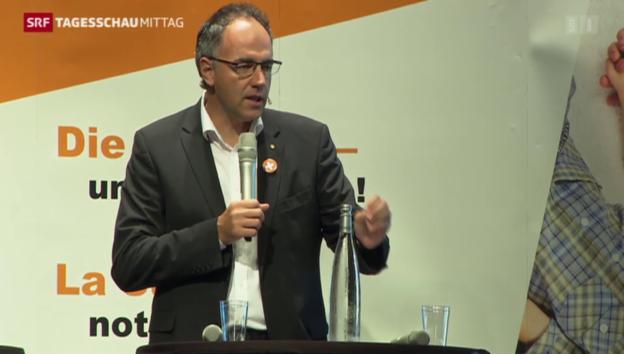 Video «CVP diskutiert im Wallis über die Zukunft der Schweiz» abspielen