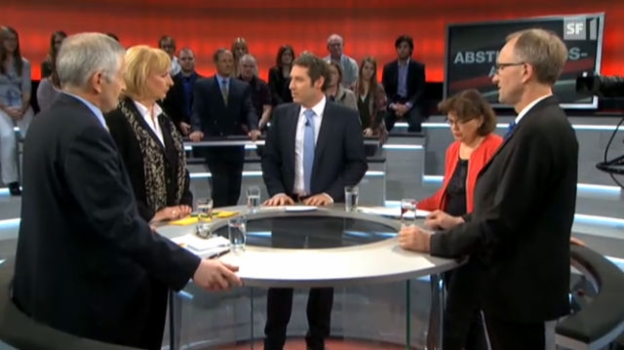 Video «Abstimmungs-Arena: Bauspar-Initiative» abspielen