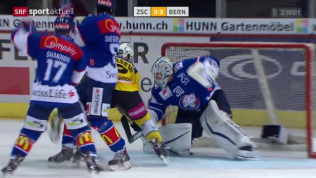 Video «Eishockey: ZSC Lions - SC Bern» abspielen