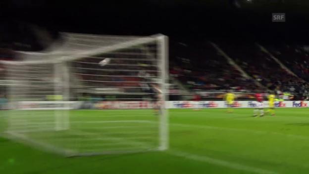 Video «Maccabi siegt bei Alkmaar» abspielen