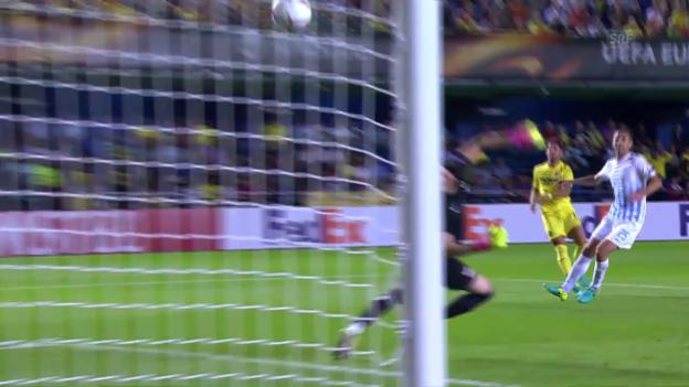 Video «Dank Pato: Villarreal bezwingt den FCZ» abspielen