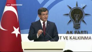 Video «Türkischer Ministerpräsident Davutoglu tritt zurück» abspielen