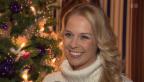 Video «Erste eigene SRF-Sendung: Linda Fäh ist aus dem Häuschen» abspielen