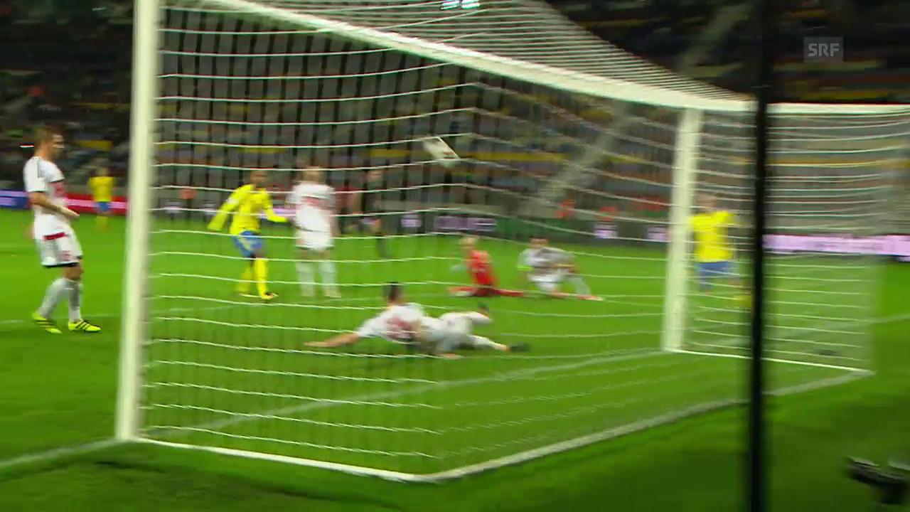 Schweden vergibt fahrlässig das 5:0