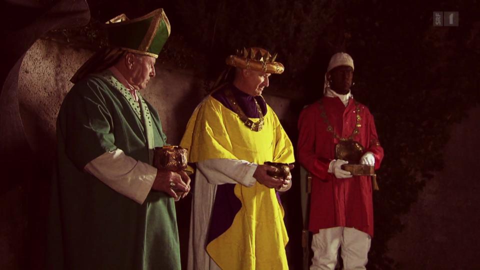 Weihrauch, Gold und Myrrhe